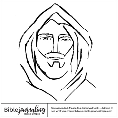 1-Sandy-Allnock-©2021-Sketch-of-Jesus-Face-1