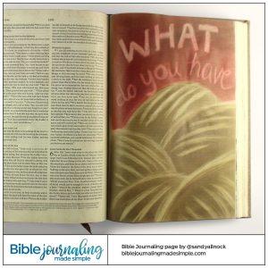 Bible Journaling John 6:9