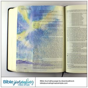 Bible Journaling Revelation 5:13 GodRays