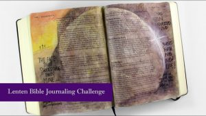 Bible Journaling Matthew 27: From The Crucifixion to The Resurrection