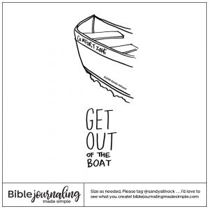 Downloadable Sketch of a rowboat