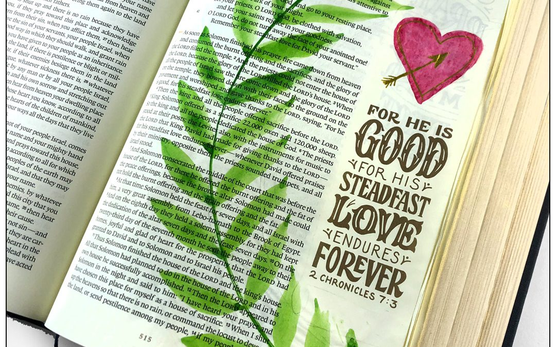 Journaling God's love