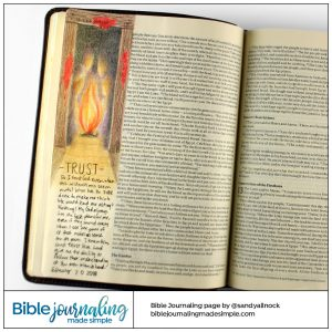 Bible Journaling Exodus 12:13 Passover