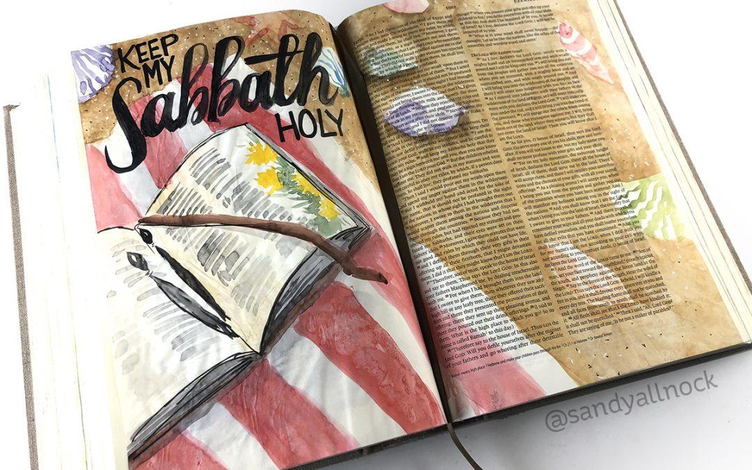 Hidden benefits of Bible Journaling
